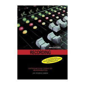 Buch Recording - Einführung in Technik der Musikproduktion - Draufsicht