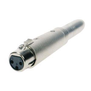 Reloop Adapter XLR W / Stereo 6,3 mm Kli - Perspektive