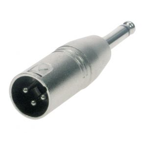 Reloop Adapter XLR M / Mono 6,3 mm Klink - Perspektive