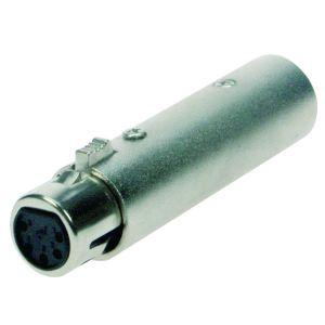 220126 Reloop Adapter XLR M 3-Pin / DMX W 5-Pin - Perspektive