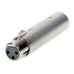 220127 Reloop Adapter XLR W 3-Pin / DMX M 5-Pin - Perspektive