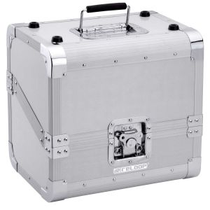 220140 Reloop 80 Record Case Silver - Perspektive