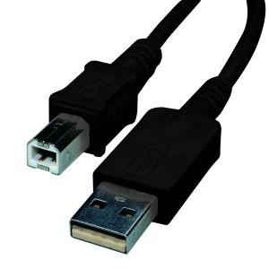Reloop USB-B/M USB-A/M 1,5 m black - Perspektive