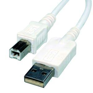 Reloop USB-B/M USB-A/M 3 m white - Perspektive