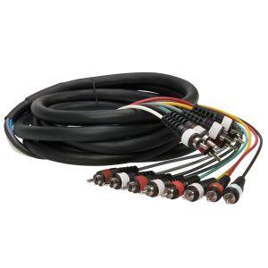 222485 Reloop Kabel Multi-Cinch 3 m - Perspektive