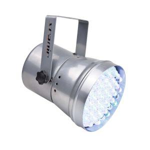 Scanic LED PAR 36 RGB silver - Perspektive