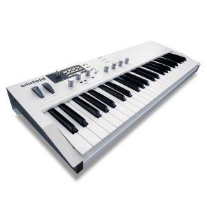 Waldorf Blofeld Keyboard white - Perspektive