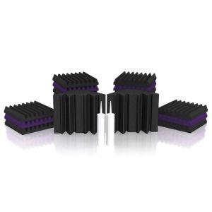 227156 Universal Acoustics Mercury-1 Room Kit violett/anthrazit - Perspektive