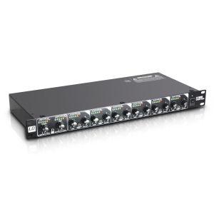 """LD Systems MS 828 19"""" 8-Kanal Splitter/M - Perspektive"""