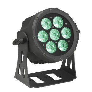 Cameo Outdoor FLAT PRO PAR CAN 7 IP657 x 10 W FLAT LED RGBWA Outdoor PAR Sche