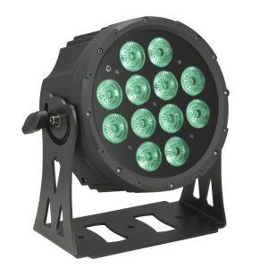 Cameo Outdoor FLAT PRO PAR CAN 12 IP6512 x 10 W FLAT LED RGBWA Outdoor PAR Sch