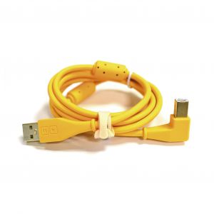 DJ Techtools USB Chroma Cable Angled Ora - Perspektive
