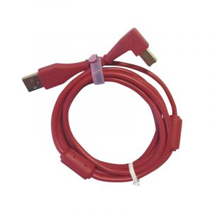 DJ Techtools USB Chroma Cable Angled Red - Perspektive