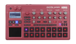Korg electribe sampler red - Top