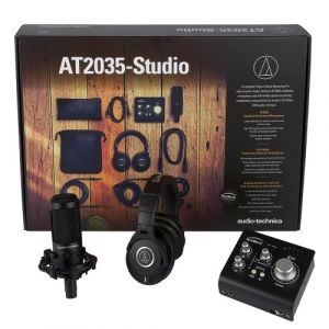 Audio Technica AT2035 - Studio Bundle