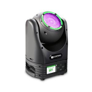 240222 Cameo MOVO BEAM Z 100 Beam Moving Head mit LED-Ring, Endlos-Drehung und Zoom - Perspektive