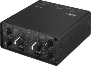 240371 IMG Stage Line MPA-202 2-Kanal-Low-Noise-Mikrofon-Vorverstärker - Perspektive