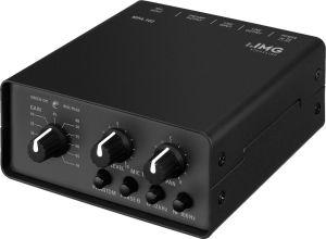 240372 IMG Stage Line MPA-102 1-Kanal-Low-Noise-Mikrofon-Vorverstärker - Perspektive