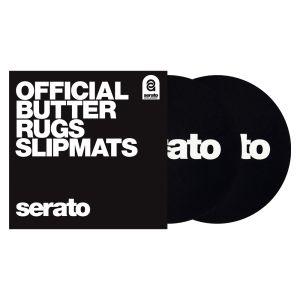 "240385 Serato 7"" Butter Rugs Slipmat schwarz - Perspektive"
