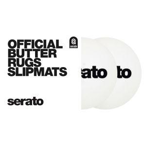 "240386 Serato 7"" Butter Rugs Slipmat weiß - Perspektive"