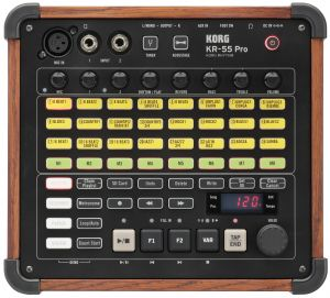240698 Korg KR-55 Pro Drum Computer - Top