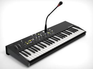240748 Waldorf STVC Keyboard - Perspektive