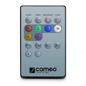 240906 Cameo Q-SPOT REMOTE Infrarot Fernbedienung für Q-SPOTS - Top