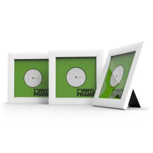 "Glorious Vinyl Frame Set 7"" White"