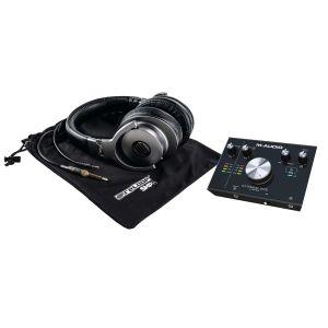 M-Audio M-Track C-Series 2X2 + Reloop SHP-8