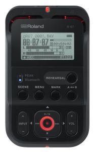 241543 Roland R-07 BK - Top