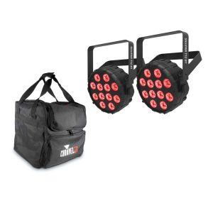 241642 Chauvet SlimPAR T12 BT Bundle + CHS-40 VIP Gear Bag - Perspektive