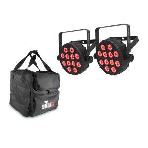 241643 Chauvet SlimPAR Q12 BT Bundle + CHS-40 VIP Gear Bag - Perspektive