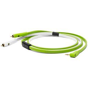 NEO-W Oyaide Kabel mit Stereo-Cinch / 3,5mm Stereo-Mini-Klinke, 2,5m