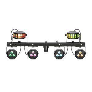 241707 Cameo Multi FX Bar EZ Lichtanlage mit 3 Lichteffekten für mobile DJs und Bands - Top