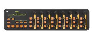 241711 Korg nanoKONTROL2 orange/grün - Top