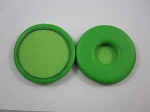 241845 Reloop Kopfhörer Ersatz-Polster green passend für Reloop RHP-10 und RH-3500 (Paar) - Perspektive