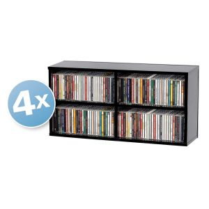 Glorious CD Box 180 4er Bundle