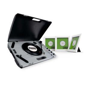 "242143 Reloop SPIN + Glorious Vinyl Frame Set 7"" White - Perspektive"