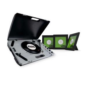 """242144 Reloop SPIN + Glorious Vinyl Frame Set 7"""" Black - Perspektive"""