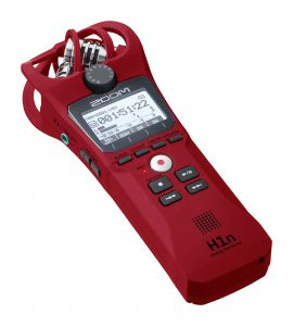 242172 Zoom H1n Red Limited Edition - Perspektive