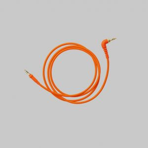 242235 Aiaiai Cables C12 - straight neon orange woven - Perspektive