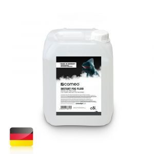 Cameo INSTANT FOG FLUID 5 L Spezielles ölfreies Nebelfluid für Cameo INSTANT Nebelmaschinen 5 L