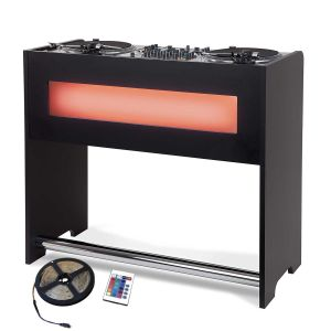 242304 Glorious GigBar black + Grundig LED-Stripe - Perspektive