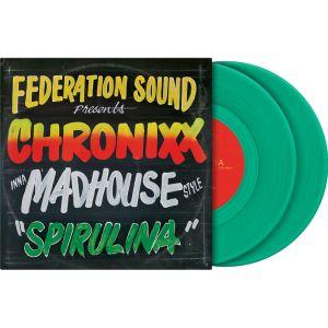 "242332 Serato 2x7"" Control Vinyl Chronixx Spirulina - Perspektive"