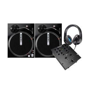 Numark M101 Black + 2x Reloop RP-1000M + Elevator DJ-500