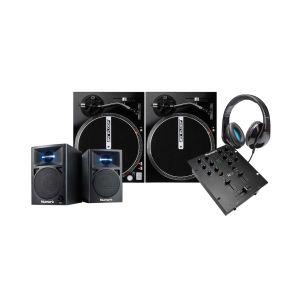 Numark M101 Black + 2x Reloop RP-1000M + Elevator DJ-500 + Numark N-Wave 360