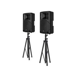 RCF ART 310-A MK4 Bundle + Lautsprecherstative