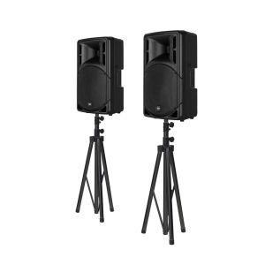 RCF ART 312-A MK4 Bundle + Lautsprecherstative