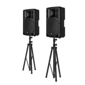 RCF ART 315-A MK4 Bundle + Lautsprecherstative
