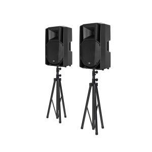 RCF ART 710-A MK4 Bundle + Lautsprecherstative